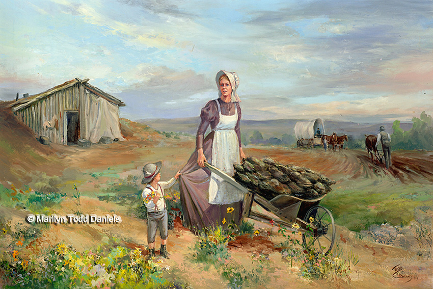 'Madonna Of Plains' by Todd-Daniels | Woodsong Institute