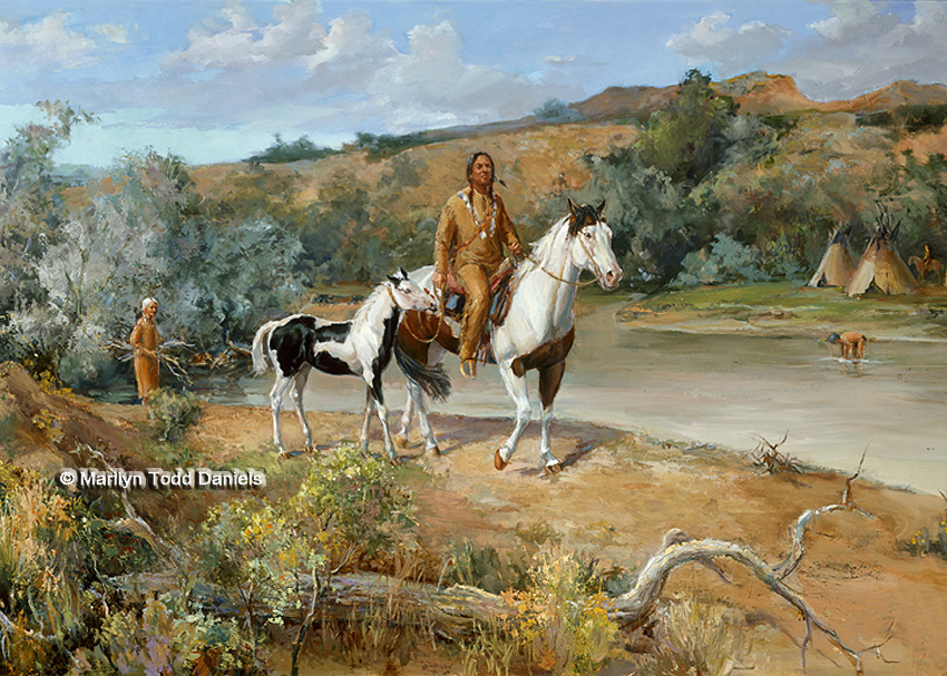 Paintings of the Old West | WoodSong Art